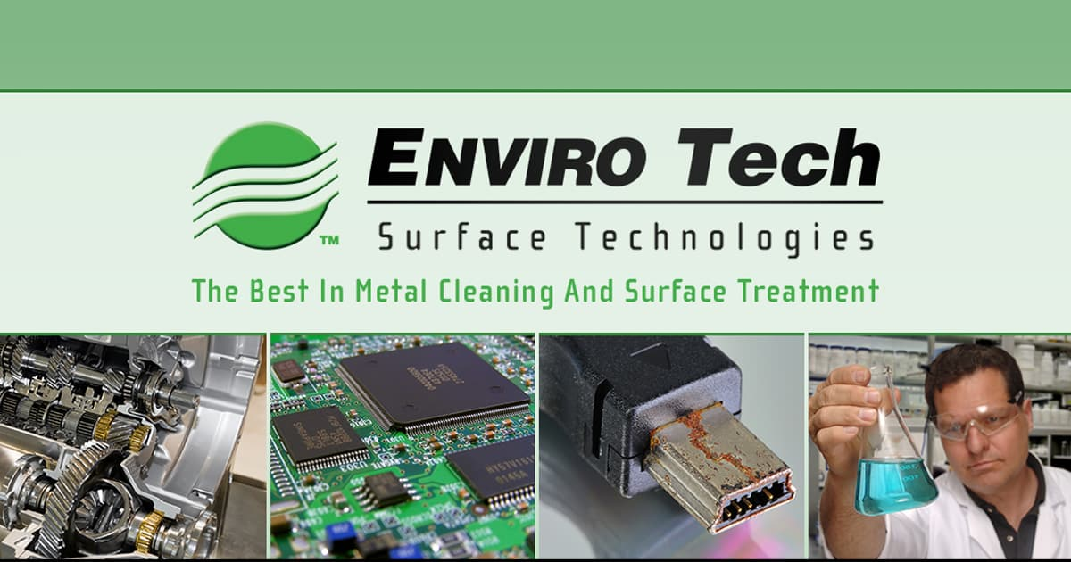 Metal Cleaning & Surface Treatment - Corrosion Protection